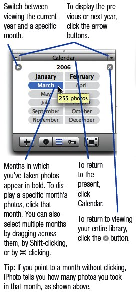 Calendar Pane at a Glance