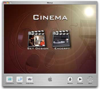 Cinema screen shot