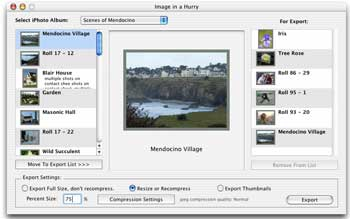 Image in a Hurry screenshot